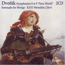 Dvorák: Symphonies 8 & 9; Serenade for Strings