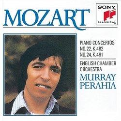 Mozart: Piano Concerti No. 22, K. 482 & No. 24, K. 491