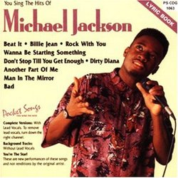 You Sing the hits of Michael Jackson