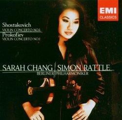 Shostakovich: Violin Concerto No. 1; Prokofiev: Violin Concerto No. 1