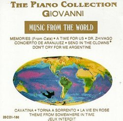 Giovanni, De Piano Colection Music From De World, Memories - Concierto De Aranjuez - Don T Cry For Me Argentine