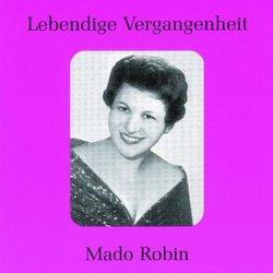 Lebendige Vergangenheit: Mado Robin