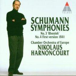 "Schumann: Symphonies 3 ""Rhenish"" & 4 (First version, 1841)"