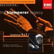Klemperer Legacy - Beethoven: Symphonies nos. 4 & 5 / Bavarian Radio Orchestra