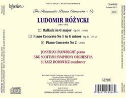 Rozycki: Piano Concertos Nos. 1 & 2