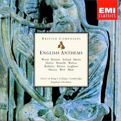 English Anthems: King's College Choir, Cambridge; Stephen Cleobury