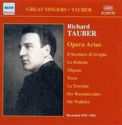 Richard Tauber: Opera Arias