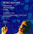 Boris Blacher: Symphony (1938) / Violin Concerto (1948) / Poem for Large Orchestra (1974)