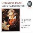 Beethoven: String  Quartets No. 10 Op. 74 &  No. 7 Op. 59