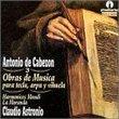 Antonio de Cabezon: Obras de Musica para tecla, arpa y vihuela, Vol. 3 - Claudio Astronio / Harmonices Mundi / La Moranda