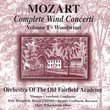 Complete Mozart Wind Concerti 1: Woodwind