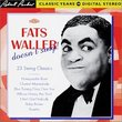 Fats Waller Doesn't Sing
