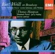 Kurt Weill On Broadway - Thomas Hampson, John McGlinn, London Sinfonietta