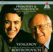 Prokofiev, Shostakovich: Violin Concertos no 1 / Rostropovich, Vengerov