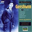 Authentic George Gershwin Vol I