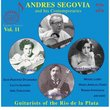 Andres Segovia and His Contempories, Vol. 11: Guitarists of the Rio de la Plata [3 CDs + DVD]