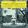 Brahms: String Quintets, op. 88 & 111 (Hagen Quartet, Gerard Causse)