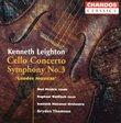 """Kenneth Leighton: Cello Concerto; Symphony No. 3 """"Laudes musicae"""""""