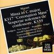 Mozart: Misa in C Major / Coronation Mass