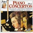 Mozart: Piano Concertos, Vol. 1