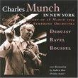Charles Munch in New York