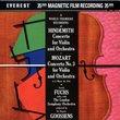 Violin Concertos / Violin Concerto No 3 (Wdva)
