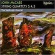 McCabe: String Quartets Nos. 3-5