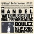 Water Music Suite / Royal Fireworks Music