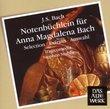 Bach J.S: Notenbuchlein Fur Anna Magdalena