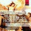 Strauss - Le bourgeois gentilhomme · Honegger - Symphonies 2 & 4 / López-Cobos