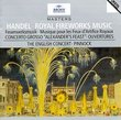 "Handel - Royal Fireworks Music · Concerto Grosso ""Alexander's Feast"" · Overtures / The English Concert · Pinnock"