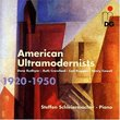 American Ultramodernists 1920-1950