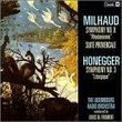 Orchestral Music By Milhaud & Honegger