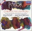Concerto for Orchestra / Music for Strings, Percussion, and Celestra