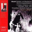 Bastien Und Bastienne/Der Schauspieldirektor (Live 1976)