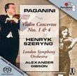 Paganini Violin Concertos 1 & 4