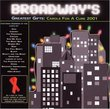 Broadway's Greatest Gifts: Carols for a Cure 2001