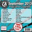 All Star Karaoke September 2013 Pop and Country Hits B (ASK-1309B)