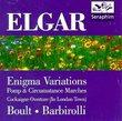 Elgar: Pomp & Circumstance Marches; Enigma Variations; Cockaigne Overture