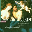 Monteverdi: Amor, Dicea - Complete Duets 2