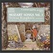 Mozart Songs: Volume 1