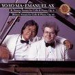 Yo-Yo Ma · Emanuel Ax ~ Strauss · Britten - Sonatas for Cello and Piano