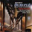 Duruflé: Organ Music (Complete)