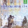 Trios Opus 40 & 114