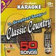 Karaoke: Greatest Songs of Classic Country