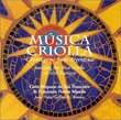 Musica Criolla: Choral Gems from Argentina