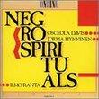 Sings Negro Spirituals