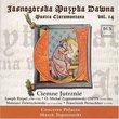 Jasnogórska Muzyka Dawna: Musica Claromontana, Vol. 14: Ciemne Jutrznie