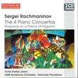 Sergey Rachmaninov: The 4 Piano Concertos