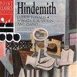 Hindemith: Ludus Tonalis / Sonata for violin & piano